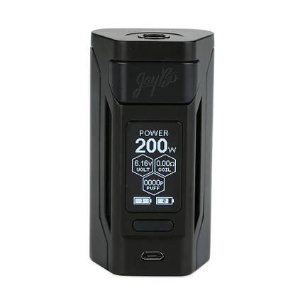 Батарейний мод Wismec RX2 Black, фото 2