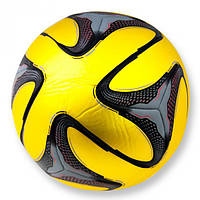Мяч футбольный Brazuca прошитый золотой