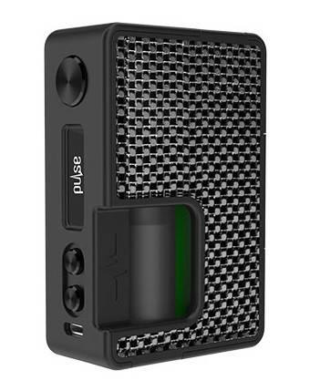 Батарейний мод Vandy Vape Pulse BF 80W TC Carbon Silver Black, фото 2