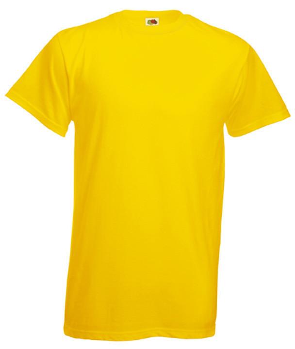 МУЖСКАЯ ФУТБОЛКА HEAVY T  (Цвет: Жёлтый; Размер: M)