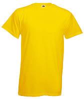 МУЖСКАЯ ФУТБОЛКА HEAVY T  (Цвет: Жёлтый; Размер: M), фото 1