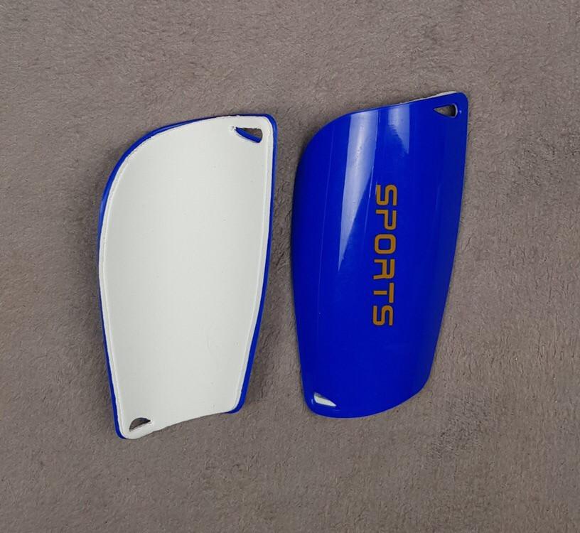 Детские футбольные щитки Sports (синие)