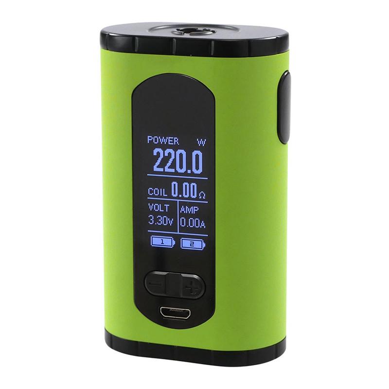 Батарейный мод Eleaf Invoke 220W Green