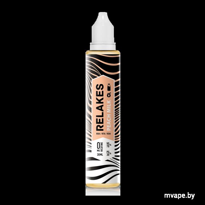 RELAKES Peach Milk - 30 и 60 мл., VG/PG 70/30 Пластик, 30, 2