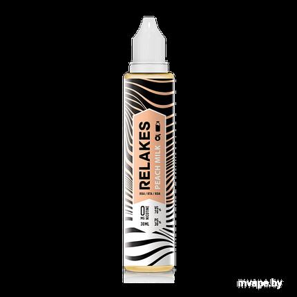 RELAKES Peach Milk - 30 и 60 мл., VG/PG 70/30 Пластик, 30, 2, фото 2