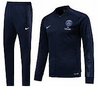 Детский спортивный костюм ПСЖ/PSG ( Франция, Лига 1 ), синий, сезон 2019-2020, фото 1