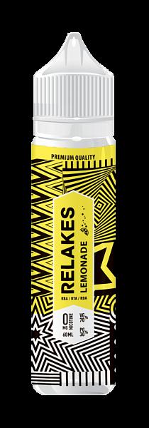 RELAKES Lemonade - 60 мл, VG/PG 70/30 Пластик, 60, 0