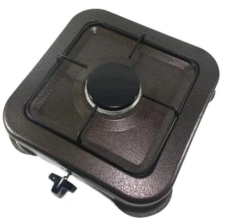 Газова плита настільна таганок Domotec MS 6601 на 1 конфорку, фото 2