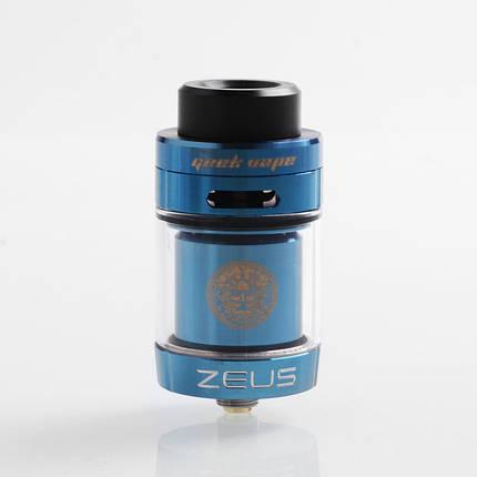 Атомайзер GeekVape Zeus Dual RTA 4 мл Blue, фото 2