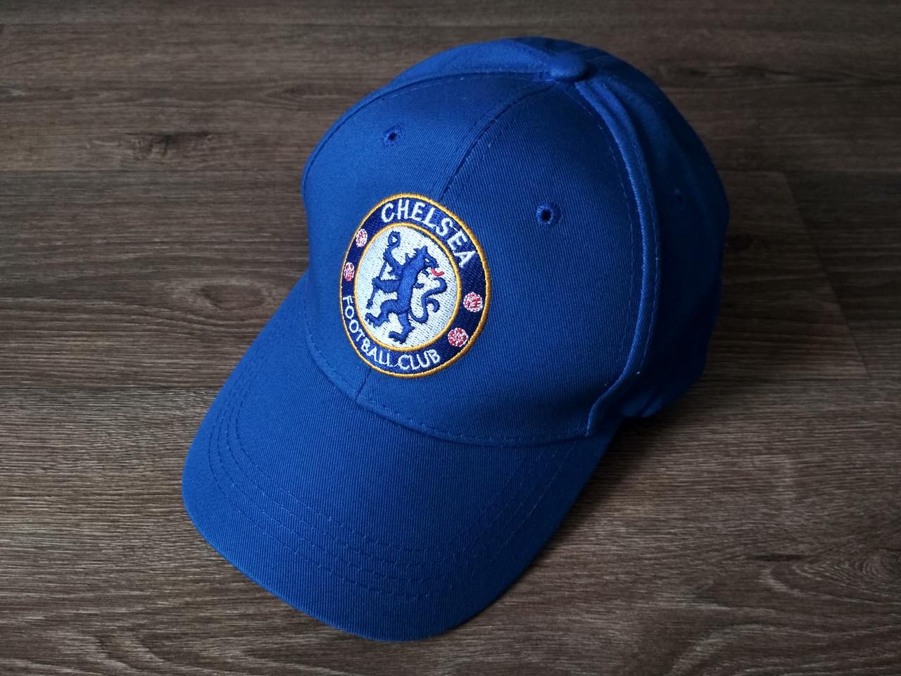 Футбольна Бейсболка / кепка Челсі / Chelsea синя 19-20