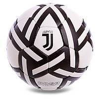 Мяч футбольный Ювентус белый