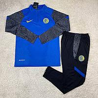 Тренировочный костюм Интер/Inter ( Италия, Серия А ), синий, сезон 2020