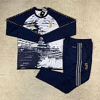 Тренировочный костюм Ювентус/Juventus ( Италия, Серия А ), темно-синий, сезон 2020-2021