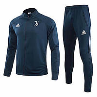 Спортивный костюм Ювентус/Juventus ( Италия, Серия А ), темно-синий, сезон 2021