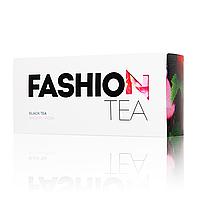 Черный чай Enerwood Fashion с вишней и розой 20 пирамидок