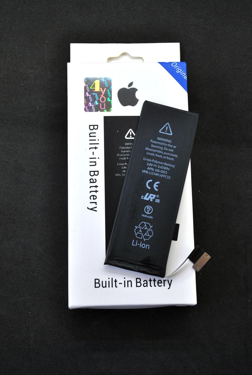 Акумулятор для телефону iPhone 5 BEST Original