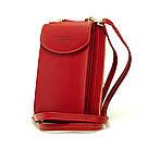 Женский кошелек-клатч, сумочка Baellerry Forever. Красный, фото 4