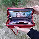 Женский кошелек-клатч, сумочка Baellerry Forever. Красный, фото 7