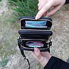 Жіночий гаманець-клатч, сумочка Baellerry Show You. Чорний, фото 4