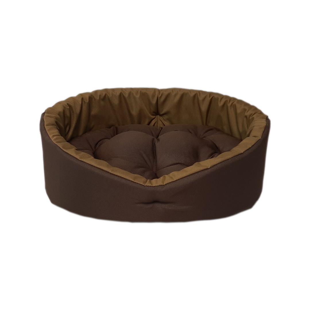 Лежак для кошек и собак. Коричневый + койот
