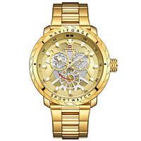 Наручний годинник Naviforce NF9158 All Gold, фото 1