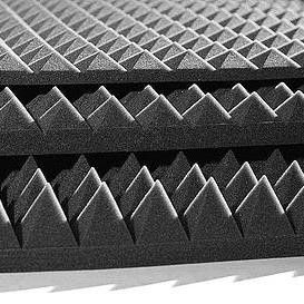 Акустический поролон пирамида 1000*1000*50 мм