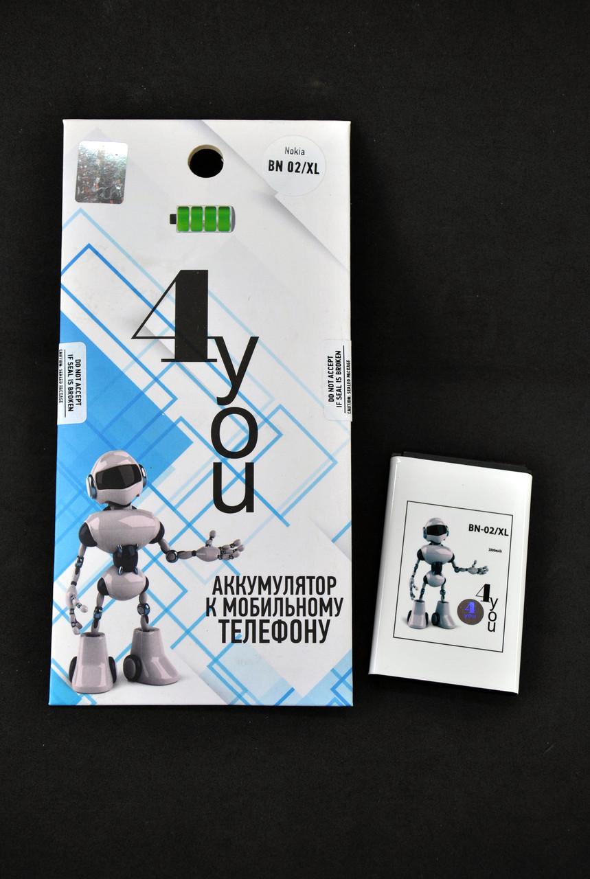 Аккумулятор для телефона Nokia BN-02/XL 4you