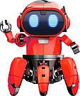 Умный Интерактивный Робот-конструктор Tobbie Robot HG-715, игрушечный робот Тобби на сенсорном управлении, фото 3