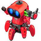 Умный Интерактивный Робот-конструктор Tobbie Robot HG-715, игрушечный робот Тобби на сенсорном управлении, фото 5