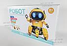 Умный Интерактивный Робот-конструктор Tobbie Robot HG-715, игрушечный робот Тобби на сенсорном управлении, фото 8