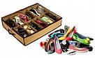 Компактный органайзер для хранения обуви ШузАдер сортировка хранение Shoes Under 12 пар обувная полка складной, фото 4