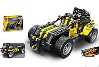 Конструктор-машина для дітей 3806, 392 деталі, інерція, в коробці