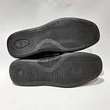 Чоловічі шкіряні туфлі літні, прошиті BASTION (Бастіон) перфорація чорні, фото 8
