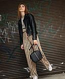 Стильная женская белая сумка кроссбоди с длинным ремешком через плечо матовая экокожа, фото 9