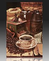 """Ширма деревянная """"Кофе и зерна"""""""