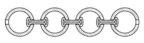 Шариковая цепь конструкция