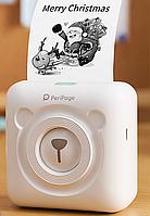 Портативный Bluetooth фото принтер, мобильный принтер для телефона PeriPage