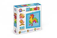Пиксельная мозаика 220 элементов