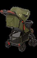 Прогулочная коляска для девочки мальчика детская Летная Lionelo EMMA PLUS FOREST GREEN Польская