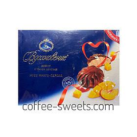 Зефир Вдохновение в темном шоколаде мусс манго-персик 245 гр.