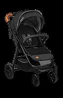 Прогулочная коляска для девочки мальчика детская Летная немовлят Lionelo BELL GRAPHITE Польская