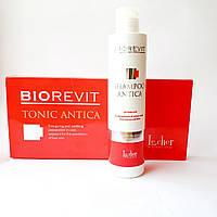 Шампунь и тоник для волос склонных к выпаданию Lecher Biorevit Antica