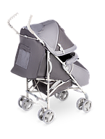 Прогулочная коляска для девочки мальчика детская Летная немовлят Lionelo ELIA GRAPHITE