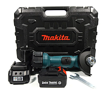 Угловая Шлифмашина Makita DGA504ZL аккумуляторная 24V 5Ah в кейсе   Профессиональная болгарка Макита