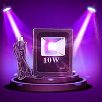 Ультрофиолетовый светодиодный прожектор LEDFLOODUV10W