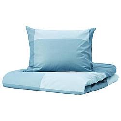 IKEA BRUNKRISSLA  Комплект постельного белья, голубой (404.820.73)