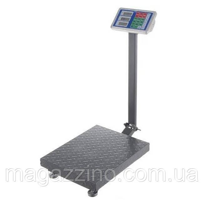 Напольные торговые весы с платформой, P6150Z, 150кг.