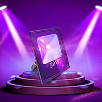 Ультрофиолетовый светодиодный прожектор  LEDFLOODUV50W