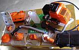 Бензинова мотокоса (бензокоса) для трави Tex.AC ТА-03-153 бензинова косарка тример, фото 7
