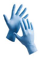 Перчатки нитриловые SafeTouch® Advanced Slim Blue, без пудры (XS, S, M, L, XL)